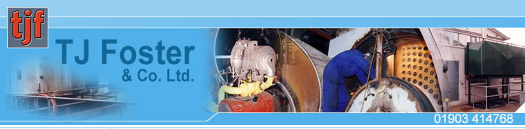 TJ Foster provide Steam and hot water boiler maintenance, installation and repair for industrial and Commercial clients